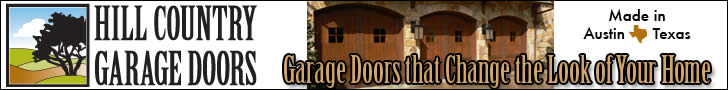 Garage Door Repair for Austin, Texas.  Custom Wood Doors shipped nationwide.